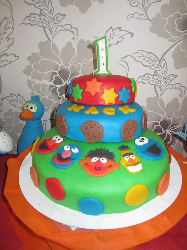 Sesamstraat Verjaardag Mack 1 Jaar Mizflurry