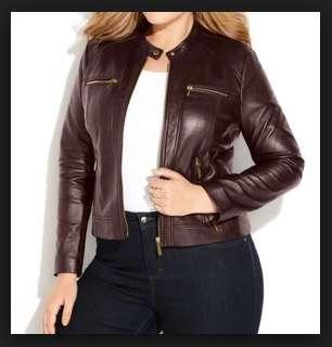 model jaket dari kulit ukuran jumbo untuk wanita