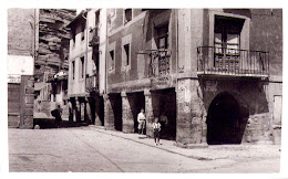 Paisaje de Nájera: Plaza la Estrella en 1955