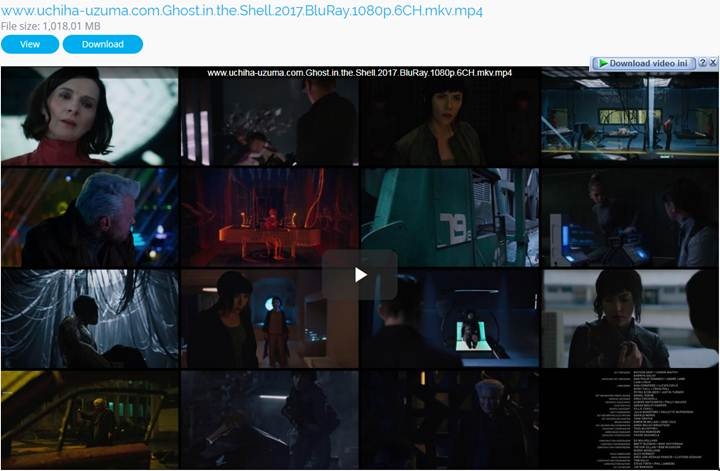 Screenshots Download Full Movie Ghost in the Shell (2017) BluRay 1080p 720p 480p 360p MKV MP4