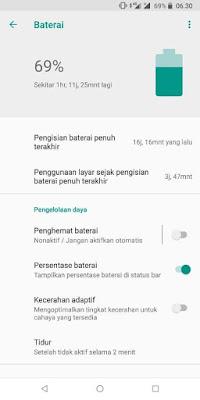 Asus Zenfone Max Pro M2 hemat baterai