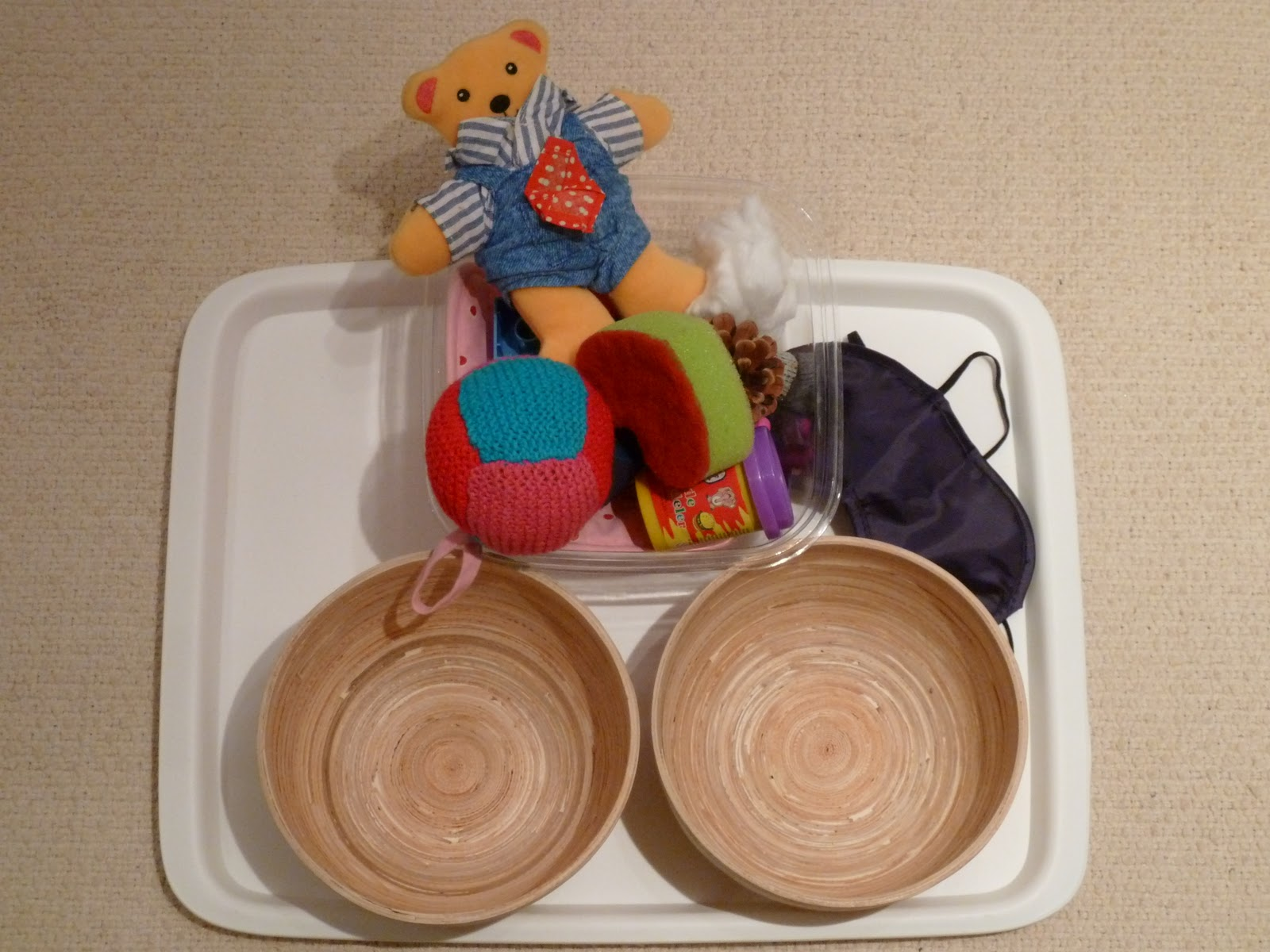 Family Fecs Montessori Activity Sorting Hard Amp Soft Objects