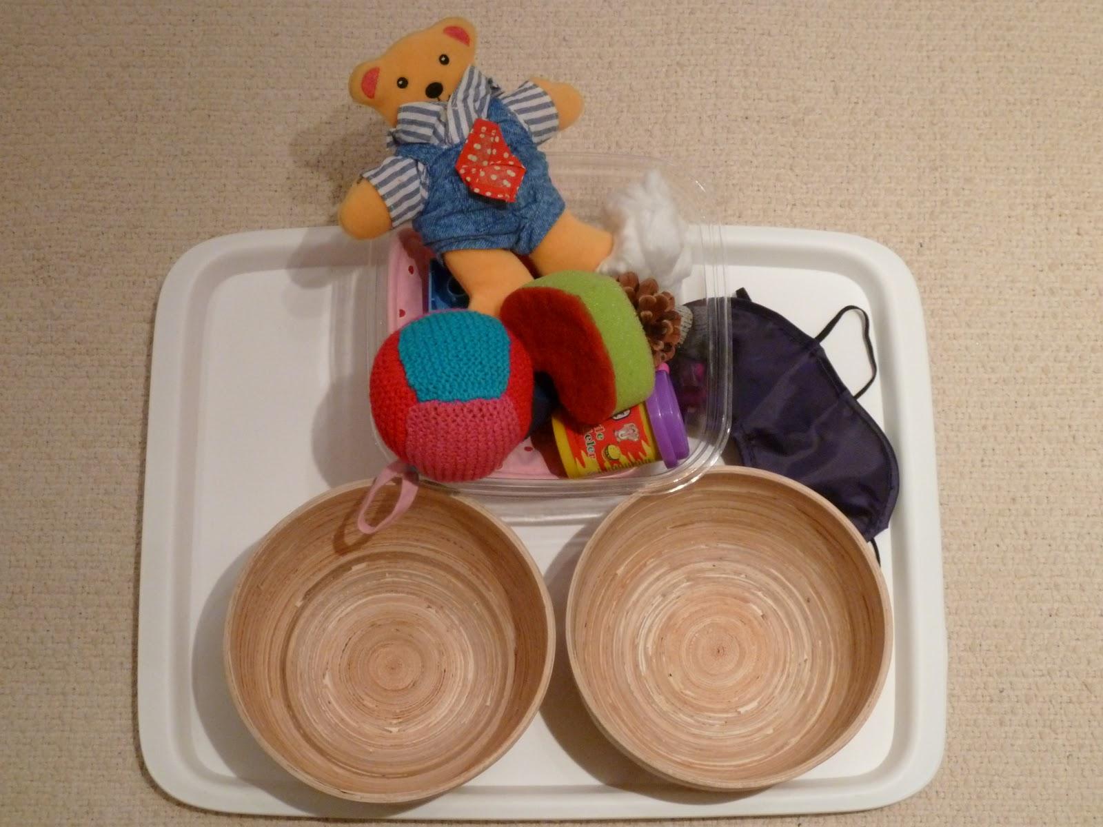 Family Fecs Montessori Activity Sorting Hard Amp Soft Objects