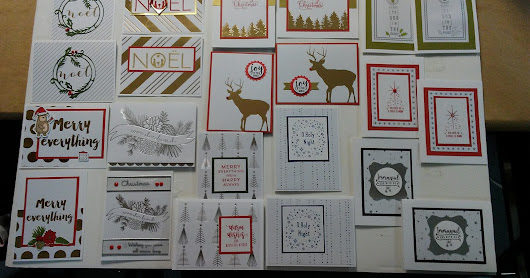 Special Christmas card workshop