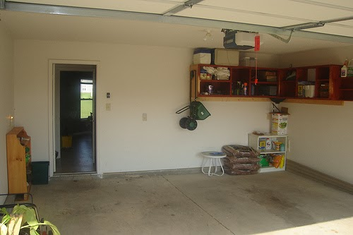 Decluttered Garage