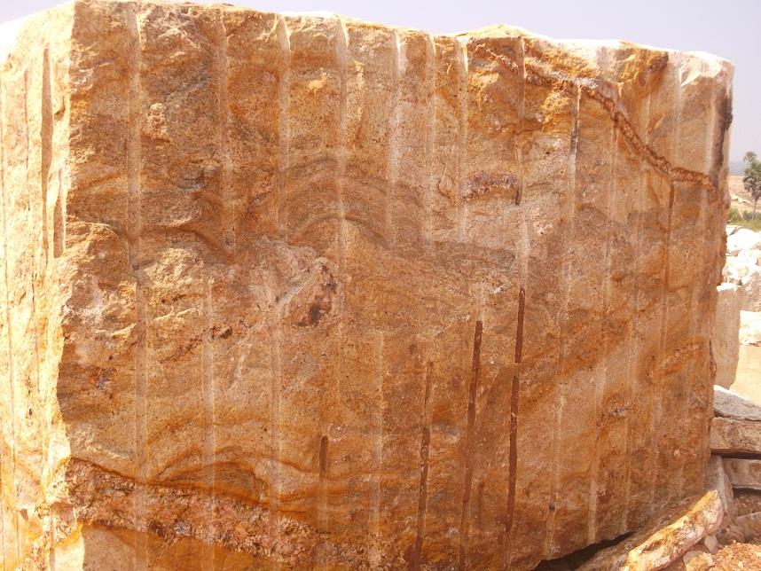 Seven Blocks Of Granite : Bengal black granite