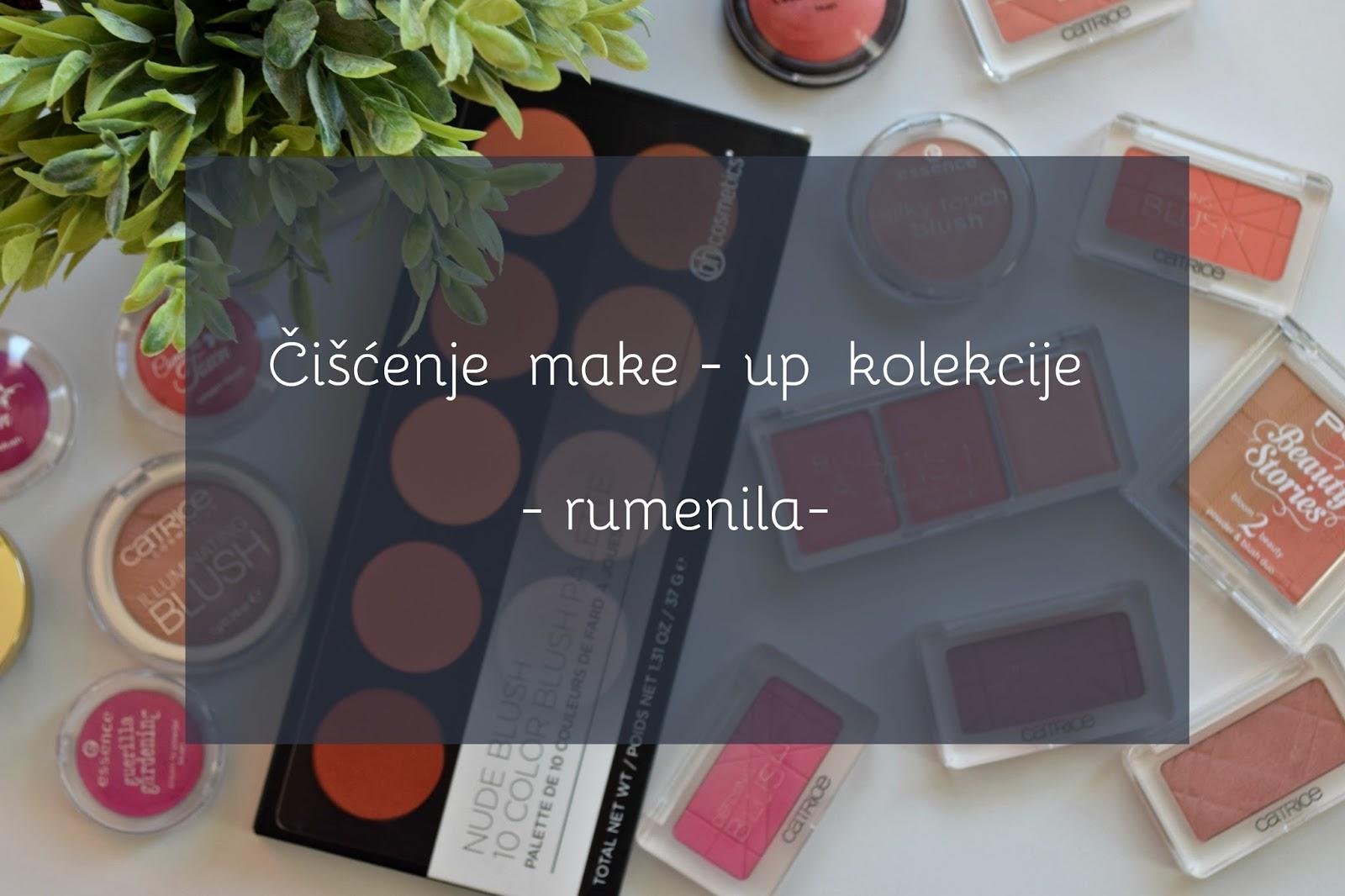 Čišćenje-make-up-kolekcije-rumenila-declutter