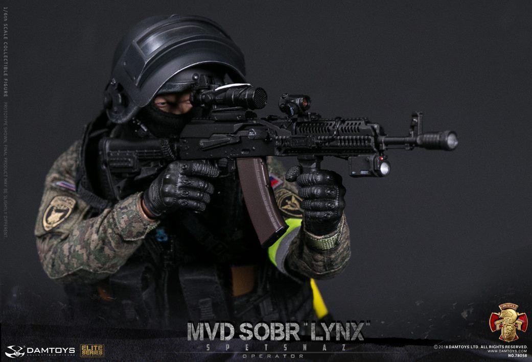 DAMTOYS RUSSIAN SPETSNAZ MVD SOBR LYNX 6b