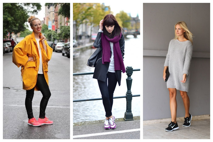Fashionable Way To Wear Women S Running Shoes