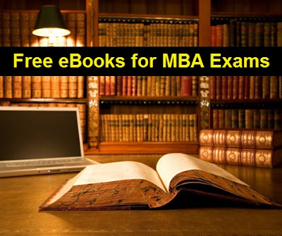 Download Free eBooks for MBA Entrance Exams