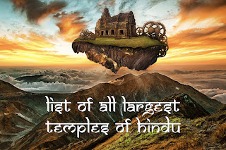 List Of All Largest Temples Of Hindu