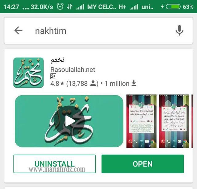 Jom Guna Aplikasi 'NAKHTIM' Untuk Kutip Pahala Mudah