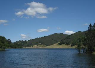 Uvas Reservoir, Santa Clara County, California