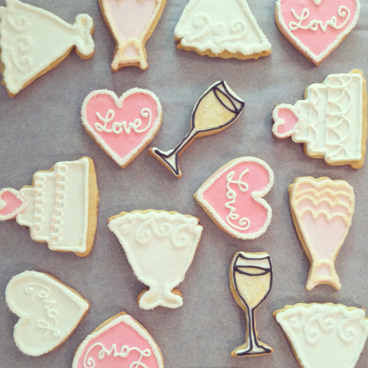 Bridal Shower Sugar Cookies