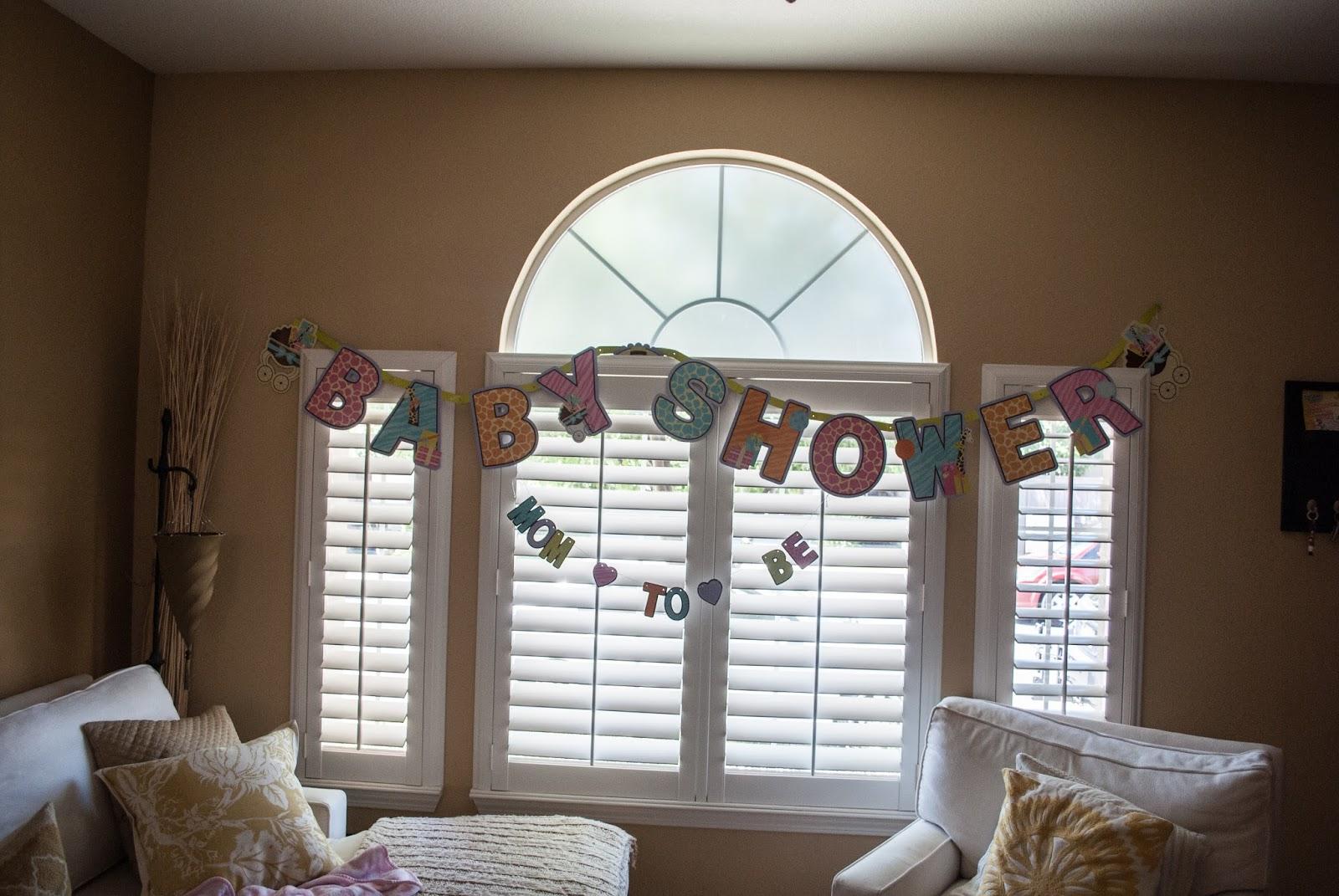 Baby Shower Cadeau Futur Maman a nous la californie: ma 1ere baby shower