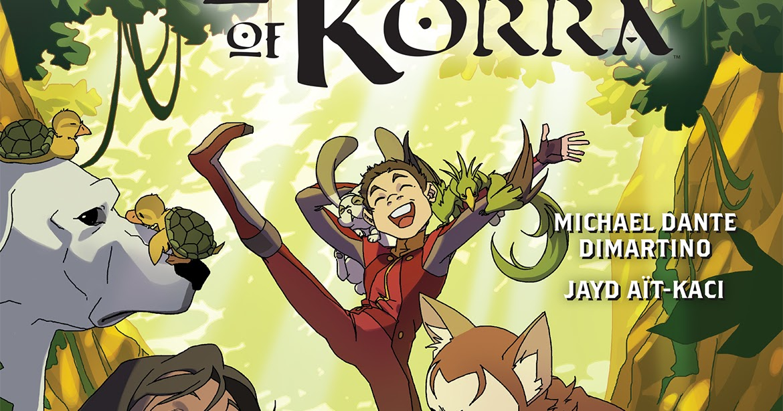 nickalive dark horse comics announces the legend of korra comic
