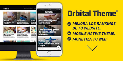 Orbital Theme, tema de Wordpress optimizado para SEO