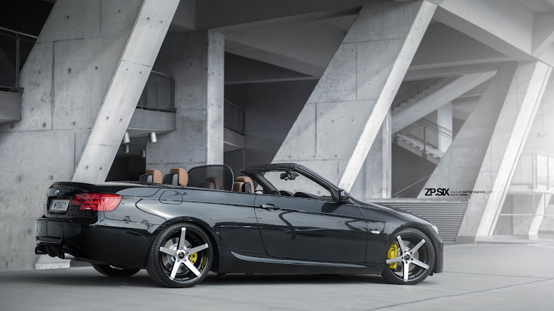 Automotive. BMW E93 Convertible Car HD