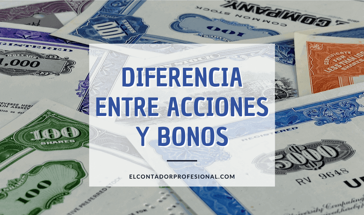 diferencia entre acciones y bonos