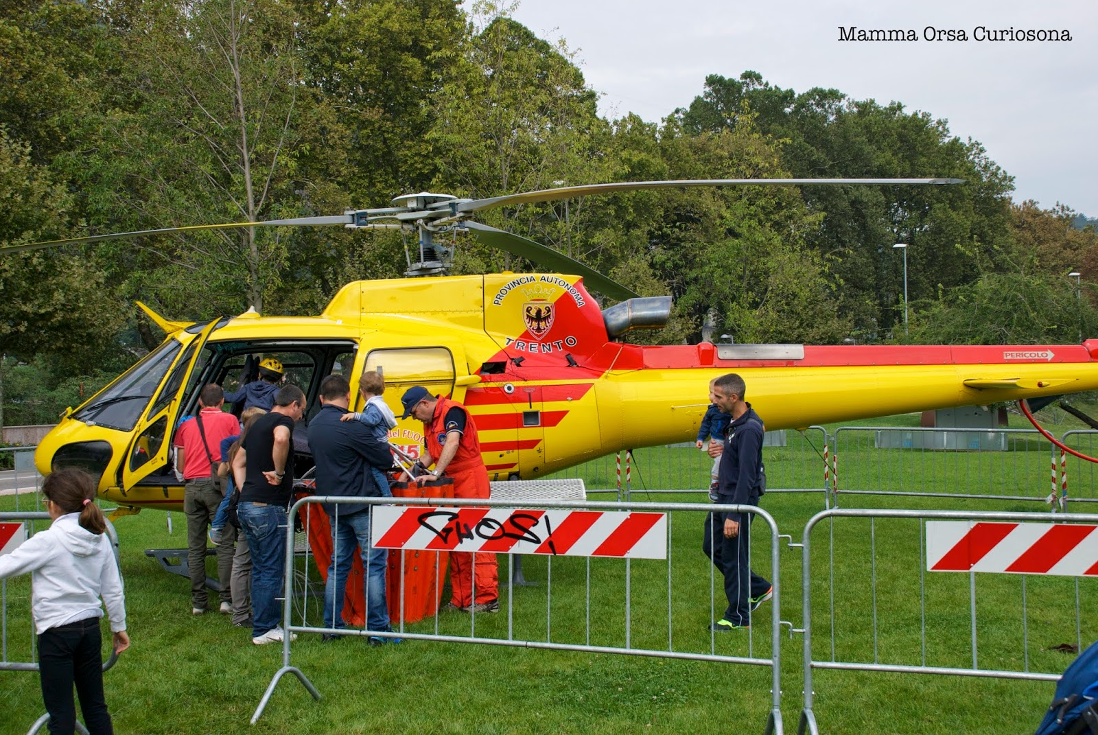 elicottero dei pompieri