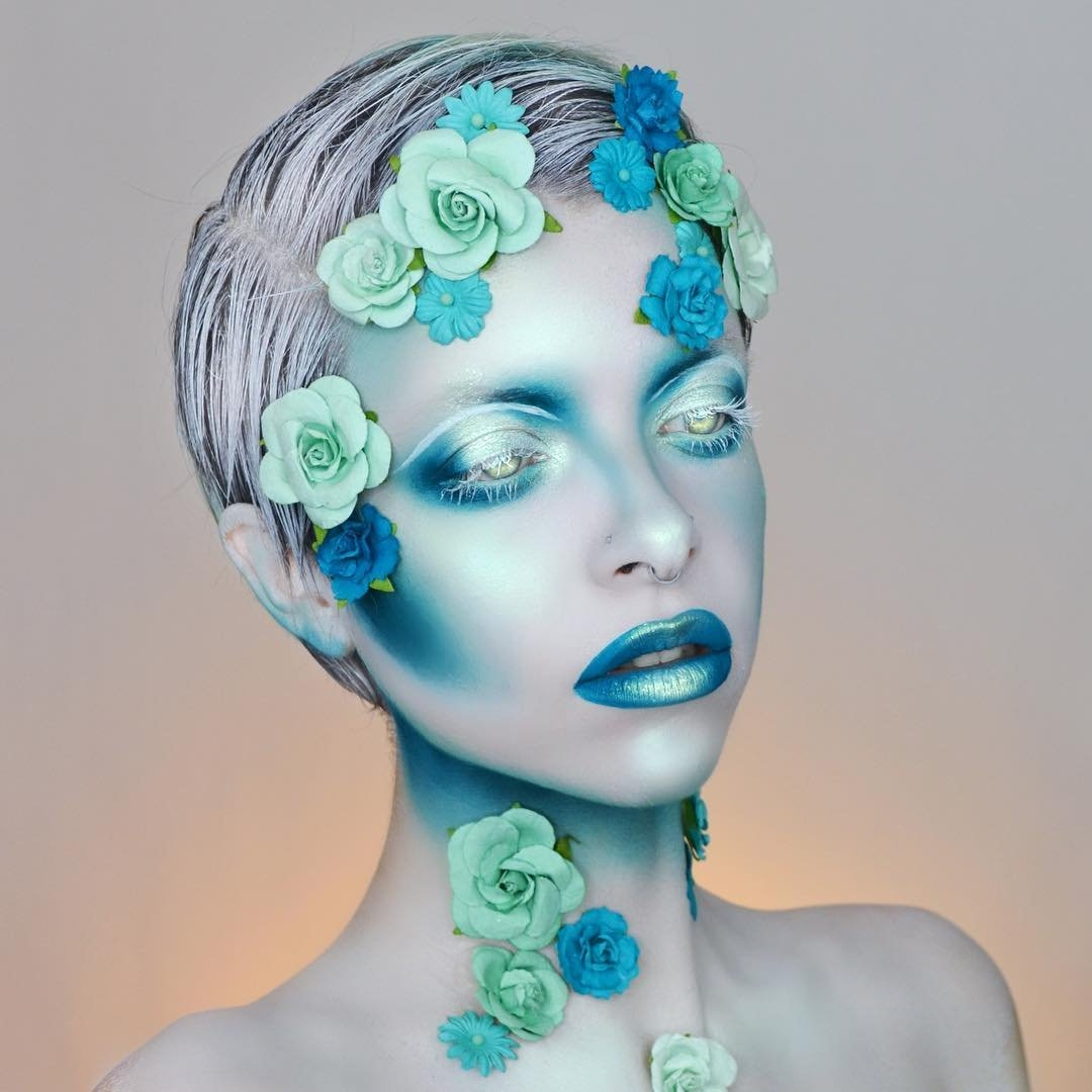 09-Feeling-Blue-Kimberley-Margarita-Makeup-Effects-that-Transform-the-Artist-www-designstack-co