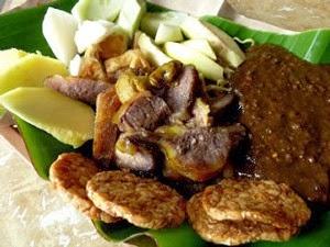 kuliner rujak cingur surabaya