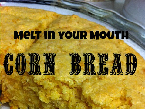 12 Days of Christmas yummies and treats : Melt in your Mouth Corn Bread