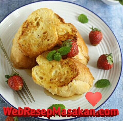 French Toast, Resep French toast,
