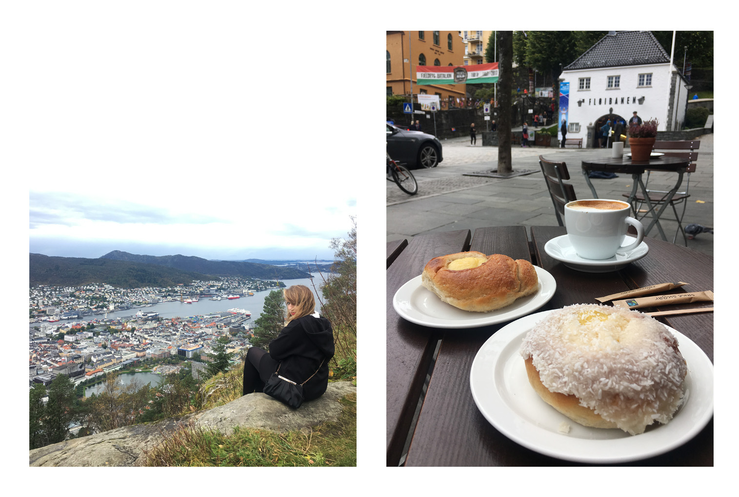 Bergen Norway Food and View