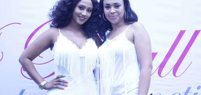 """Photos: HAJIA4REAL launches her Cosmetic line """"4Reall Beauty Cosmetics """""""