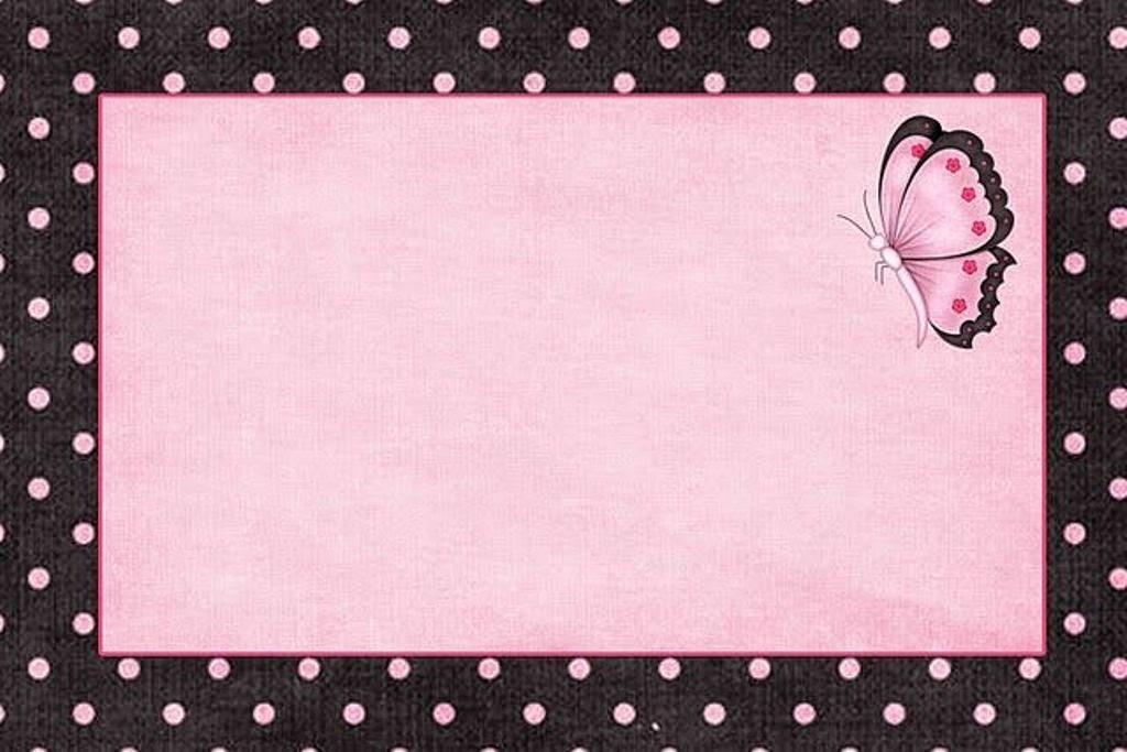 Con Color Rosa: Invitaciones, Marcos o Etiquetas para Imprimir ...