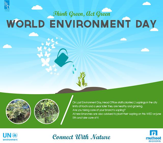 World Environment Day 2017 Muthoot