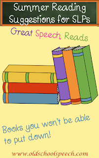 Are you an SLP who needs some ideas for some fun summer reading? Find some summer must-reads in this blog post. Great beach reads that you won't be able to put down. You'll laugh and you'll cry. #speechtherapy #books #speechbooks #speechtherapyblog