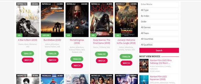 Kumpulan Daftar 8 Situs Nonton Dan Download Film Gratis Terbaru Serta Terbaik Edisi Tahun 2018 Ke Tahun 2019