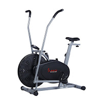 Sunny Health & Fitness SF-B2618 Air Hybrid Fan Bike, features reviewed on top best Sunny Health & Fitness Air Fan Exercise Bikes compared