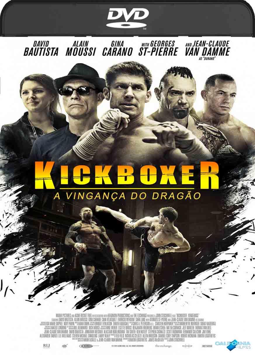 Kickboxer: A Vingança do Dragão (2016) DVD-R Oficial Dual Audio