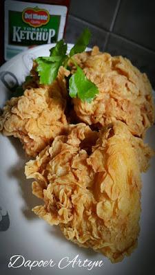 Resep Ayam Goreng Kentucky Praktis Ala Rumahan