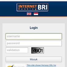 Terbaru, Cara Daftar Dan Aktifasi Internet Banking BRI