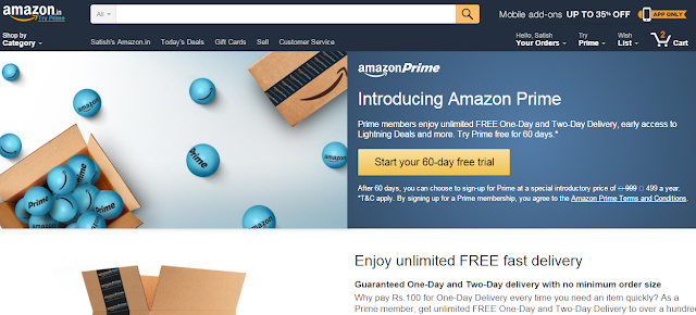 Amazon, Shopping Sites , Offer