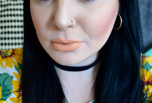 Jeffree Star Nude Beach Lipstick swatches