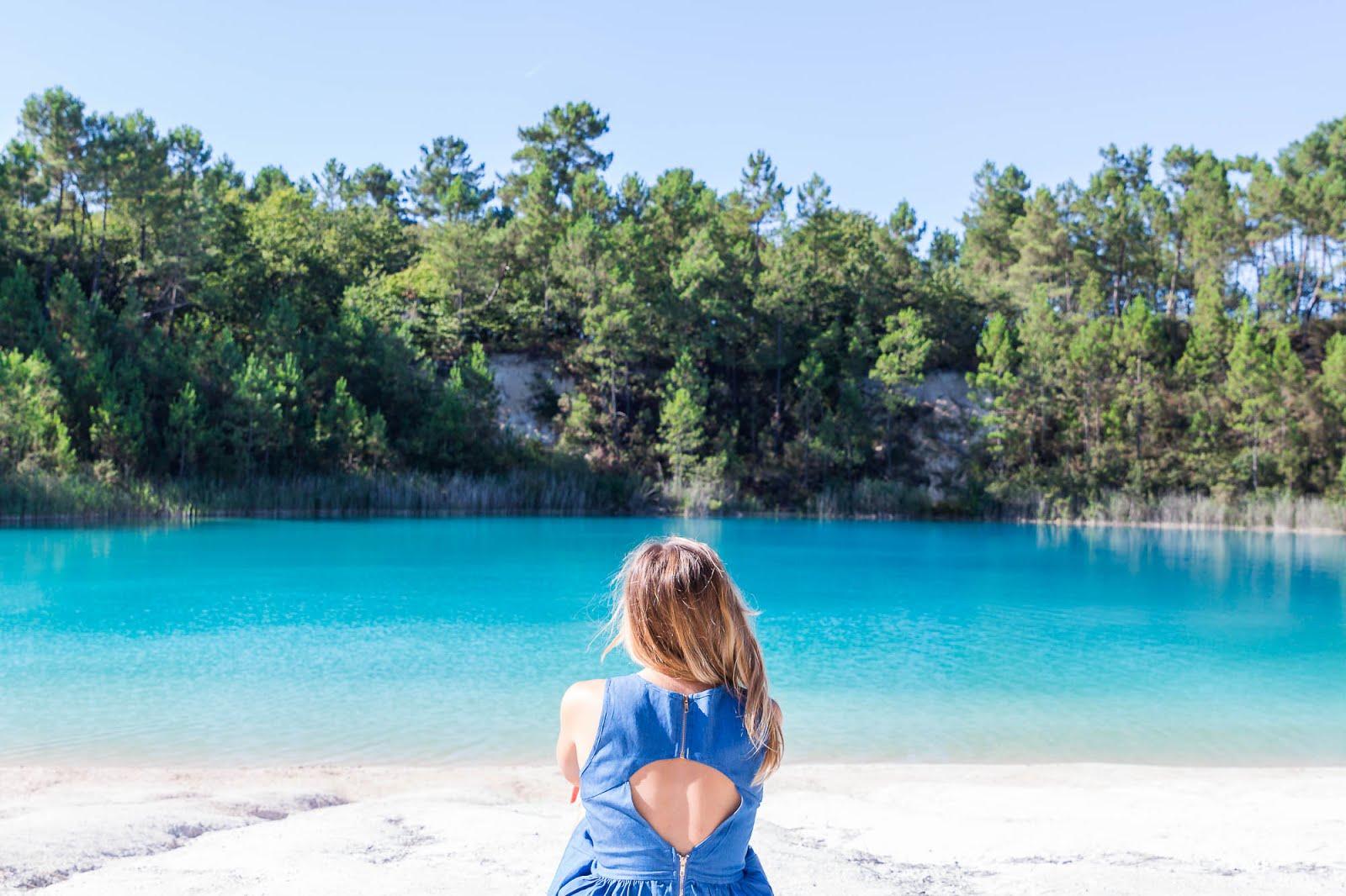 Touvérac étangs bleus