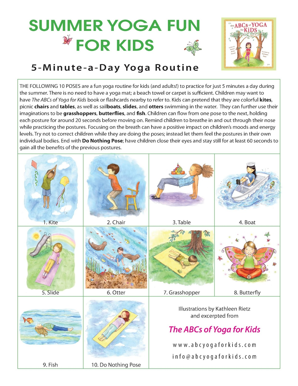 Yoga Worksheets For Kids Printable Worksheets And Activities For Teachers Parents Tutors And Homeschool Families