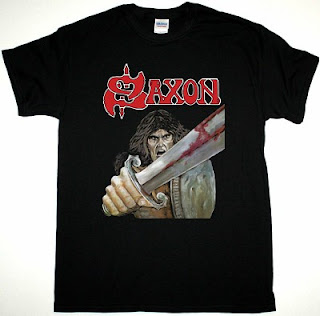 Saxon First Album T-shirt