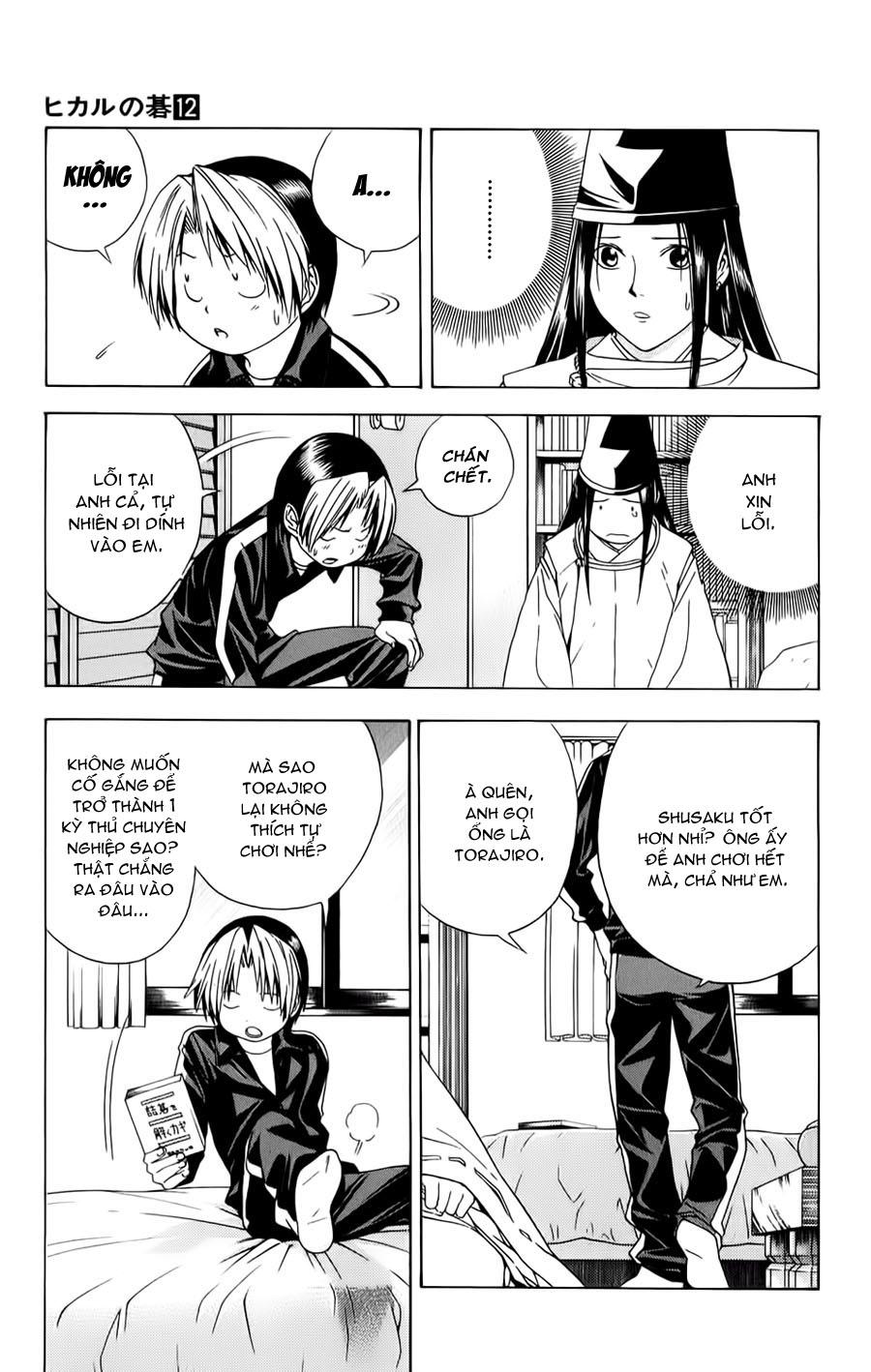 Hikaru No Go hikaru no go chap 102 trang 13