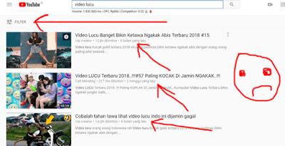 cara filter pengaturan youtube agar bisa melihat video terbaru hari ini