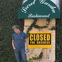 Restaurant Kitchen Nightmares kitchen nightmares - the secret garden - closed | reality tv revisited