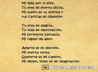 poemas para el amor de mi vida