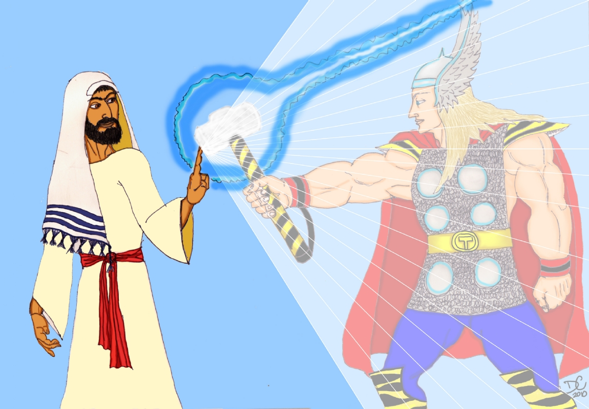 What had happen' was     : The Gospel According to Thor