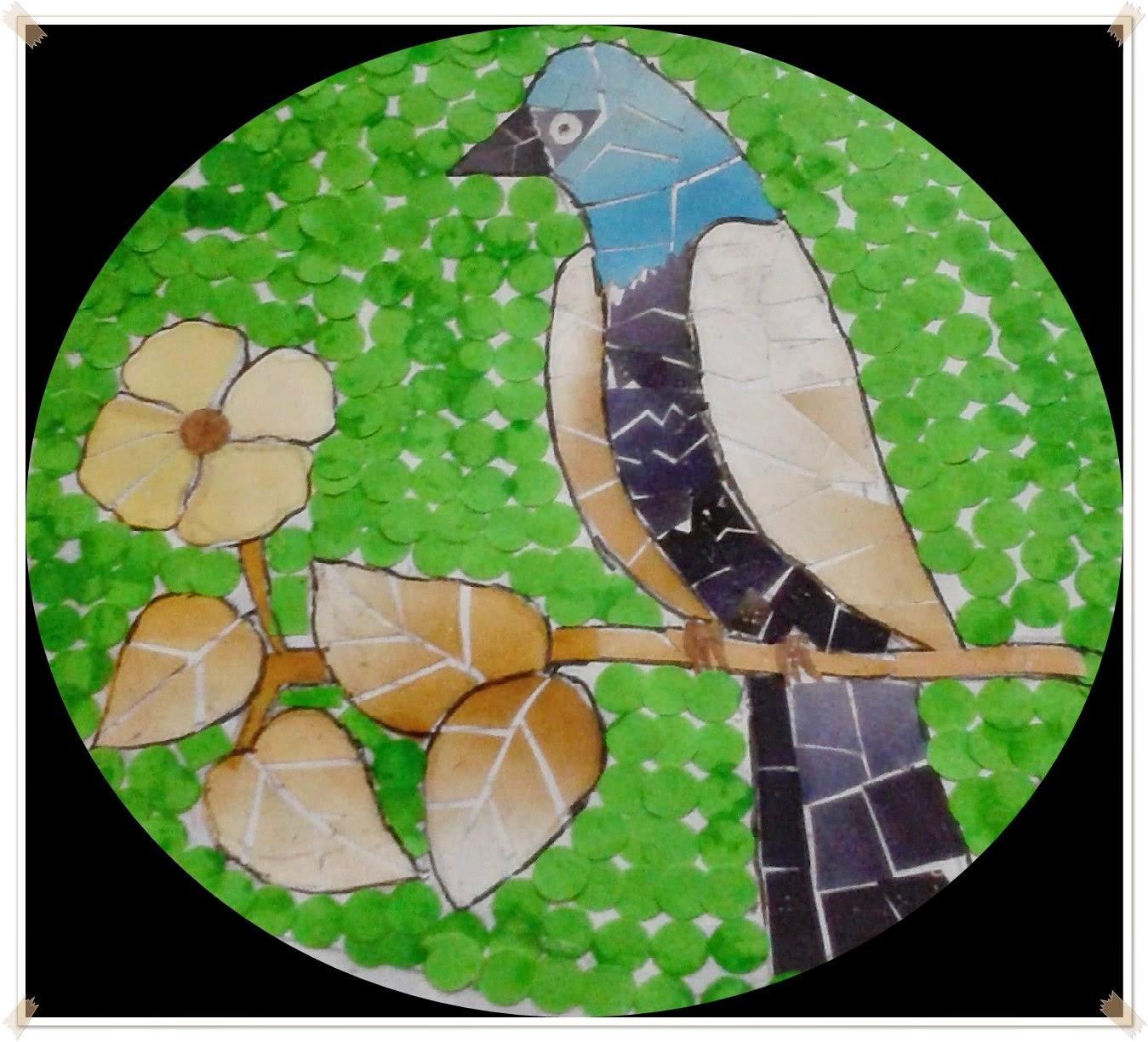 Pengertian Seni  Tempel Montase Kolase dan Mozaik  Materi