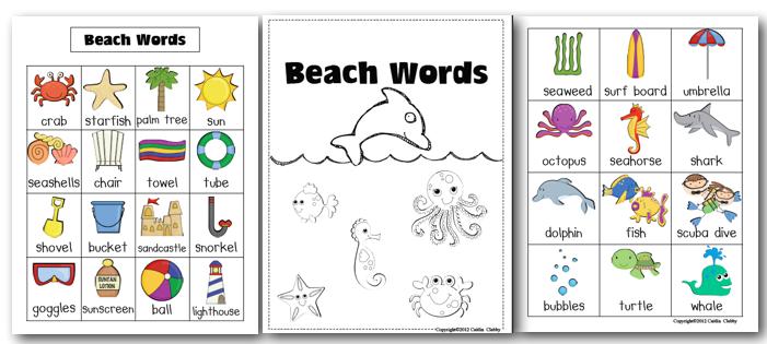 Portable Word Walls - Classroom Freebies